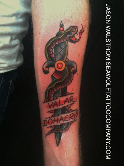 Game of thrones tattoo for Tattoo shop games