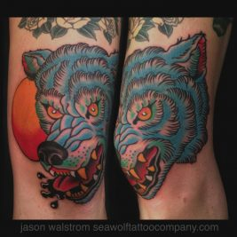 White Wolf Tattoo