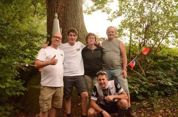 De volledige Cycling Holland crew