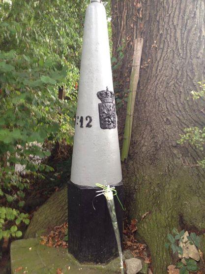 De vierde en laatste roos: het zuidelijkste punt van NL.