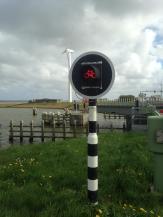 Stoplichten met het Cycling Holland logo