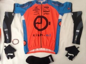 Mijn Kish/Bioracer outfit voor morgen...
