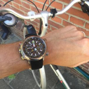 17:00..tijd om te fietsen..
