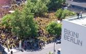 Die BVB-Fans hatten den Breitscheidplatz fest in der Hand.