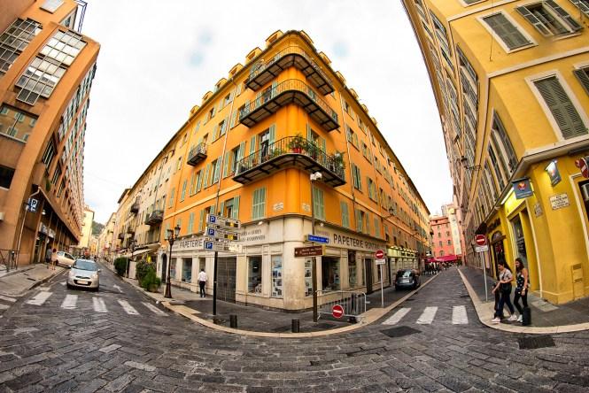 Walking in Nice
