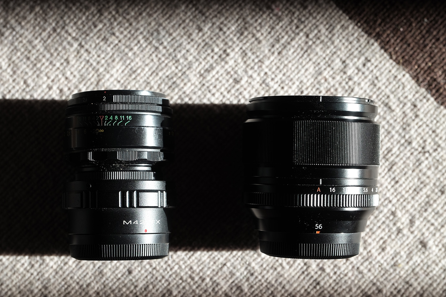Fujinon and Helios – two portrait lenses