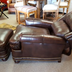 Jessica Charles Chairs Large Beanbag Chair H.m. Austin Tall Tilt-back And Ottoman