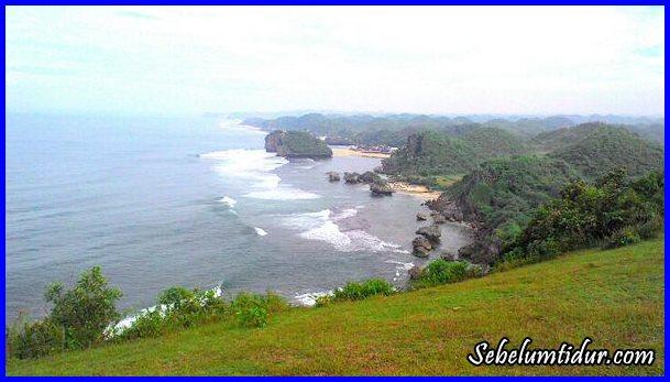 bukit kosakora, tempat wisata romantis, tempat wisata di gunung kidul