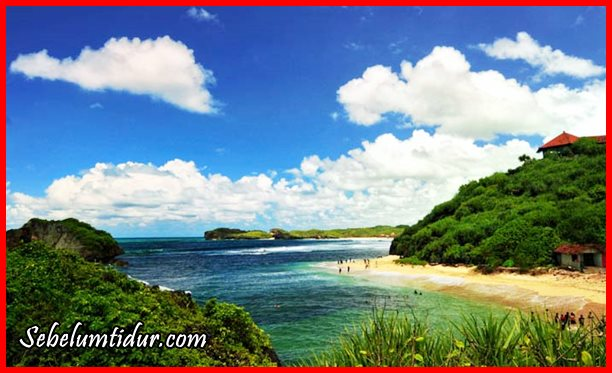 Pantai Sundak, pantai terindah di Gunung Kidul, tempat wisata di Gunung Kidul