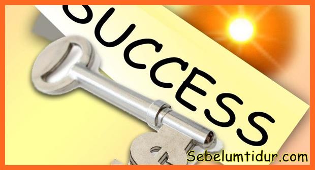 kunci kesuksesan dalam islam