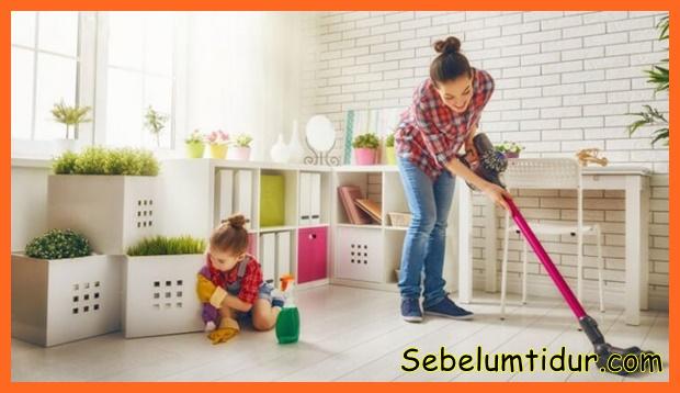 tips membersihkan rumah tanpa pembantu