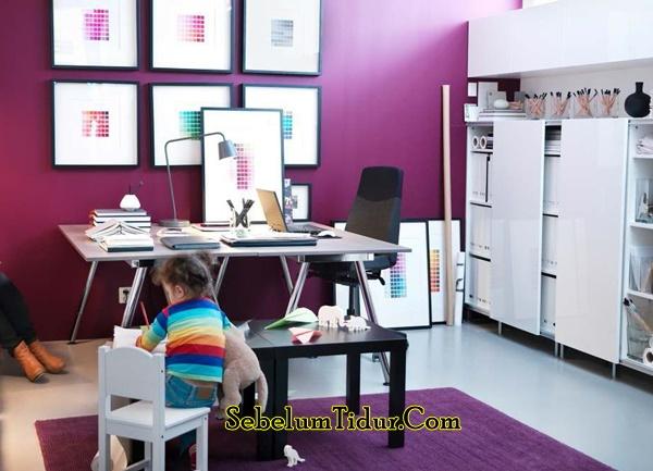 Warna Cat Tembok Yang Bagus Untuk Kantor