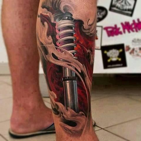 Kumpulan Gambar Foto Tatto 3D Unik Keren Menakjubkan