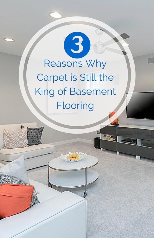 Carpet Is Still The King Of Basement Flooring Sebring