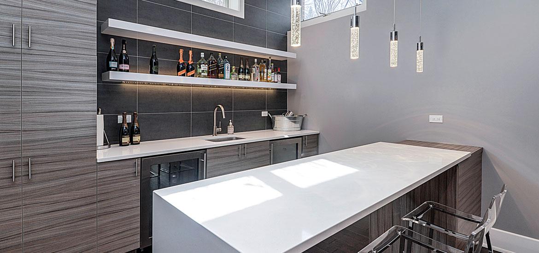 8 Top Trends in Basement Wet Bar Design for 2017  Home