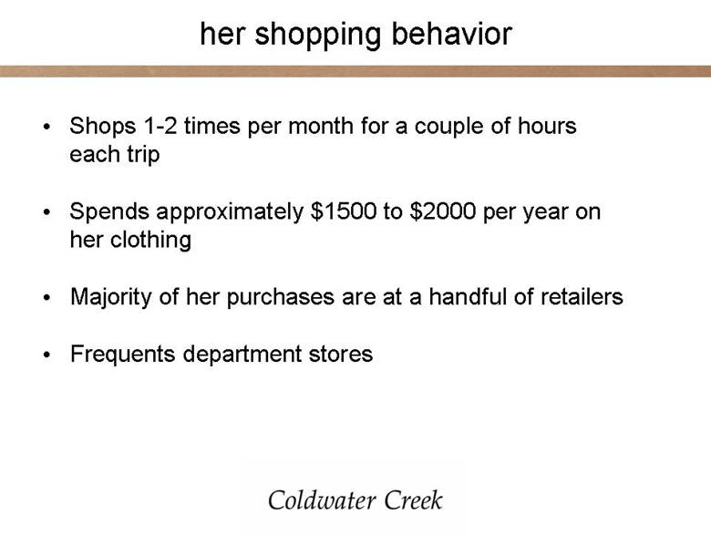 Coldwater Creek Northpark