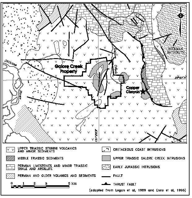 figure 4 2 regional geology taken from simpson 2003