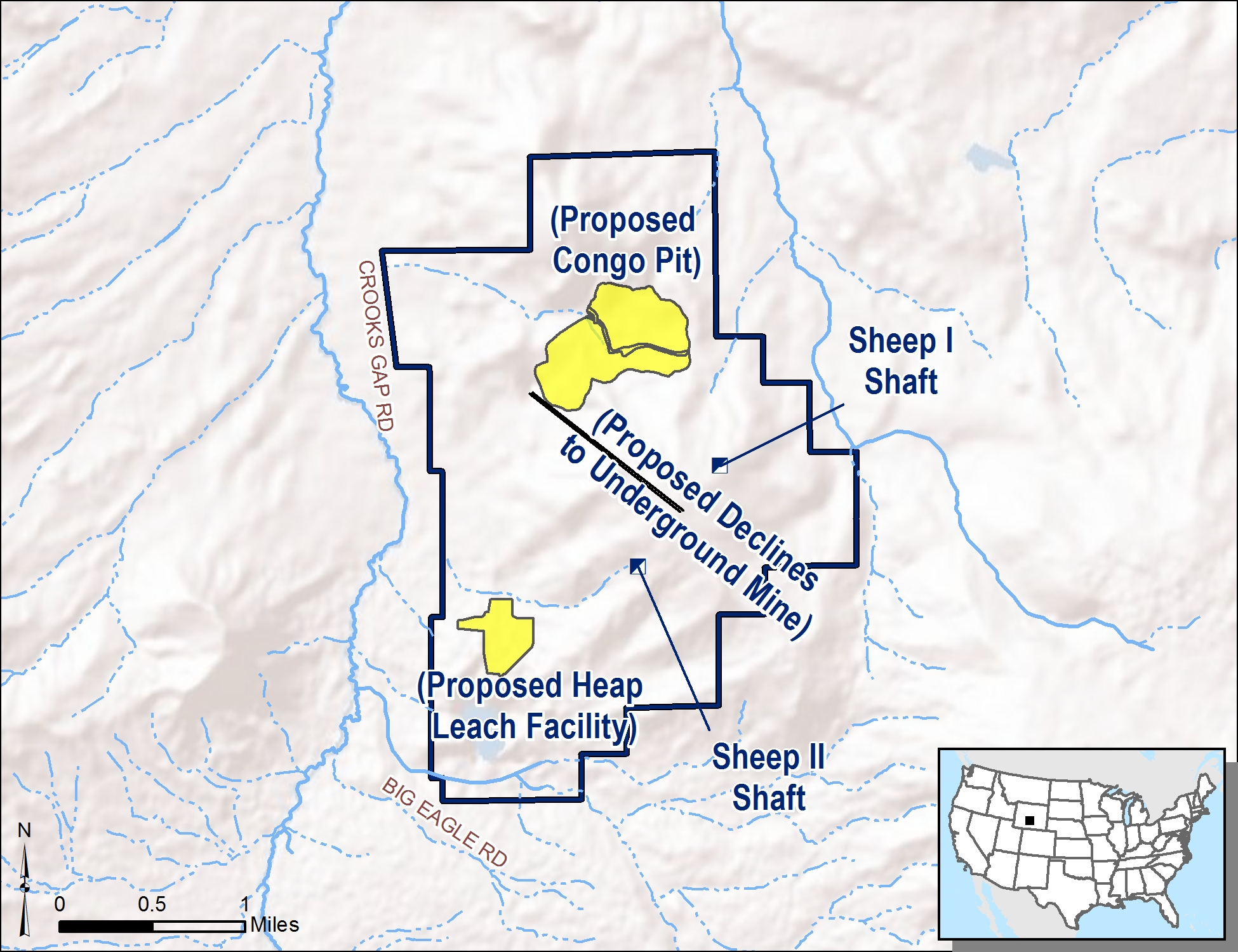hight resolution of the preferred alternative for the development of the sheep mountain project begins the operation with the open pit and heap leach facility and brings the
