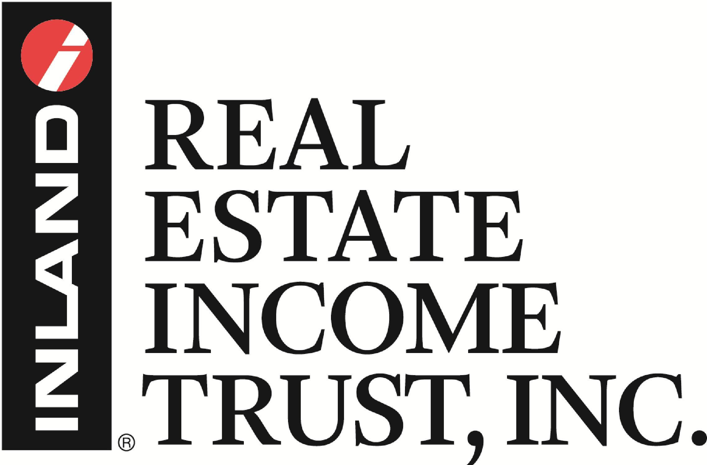 INLAND REAL ESTATE INCOME TRUST, INC.