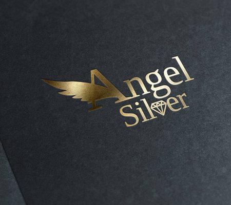 angelsilver logo tasarımı