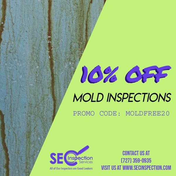 April SEC Mold Inspection Tampa FL Promo