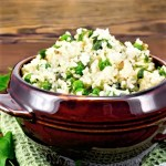 Couscous  Green Peas-Almonds and Herbs