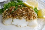 Lemon and Parmesan Crusted Fish