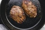 Pan-Seared Top Sirloin Steaks