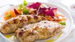 Bistro Chicken with Bermuda Salad