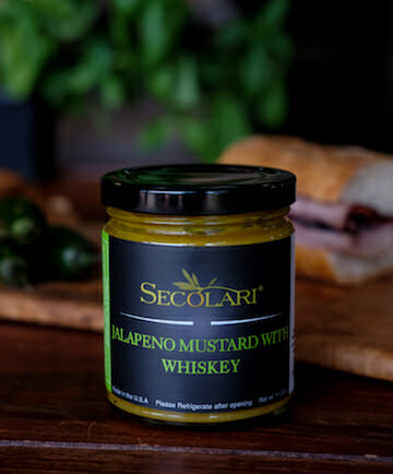 Jalapeno Mustard with Whiskey