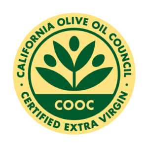 EVOO Oil Certified Seal By COOC