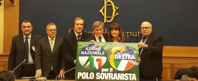 Storace e Alemanno: «Torniamo insieme per realizzare il Polo sovranista»