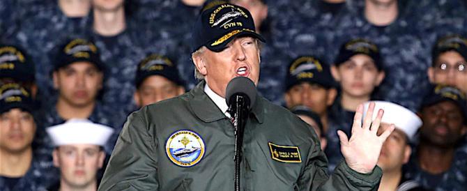 """Trump: i media dem delle """"bufale"""" vogliono la guerra con la Russia"""