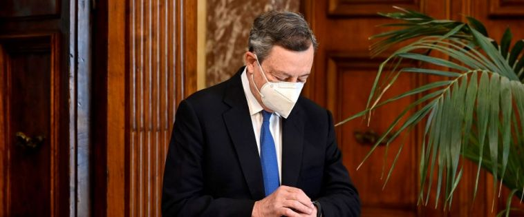 Draghi: green pass per non chiudere tutto. E sulla giustizia il governo pone la fiducia per bloccare il M5S