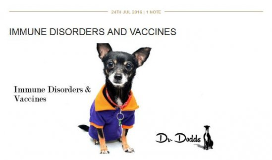 Dr. Dodds Immune Disorders and Vaccines