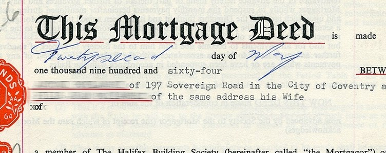 What is a deed-in-leiu?
