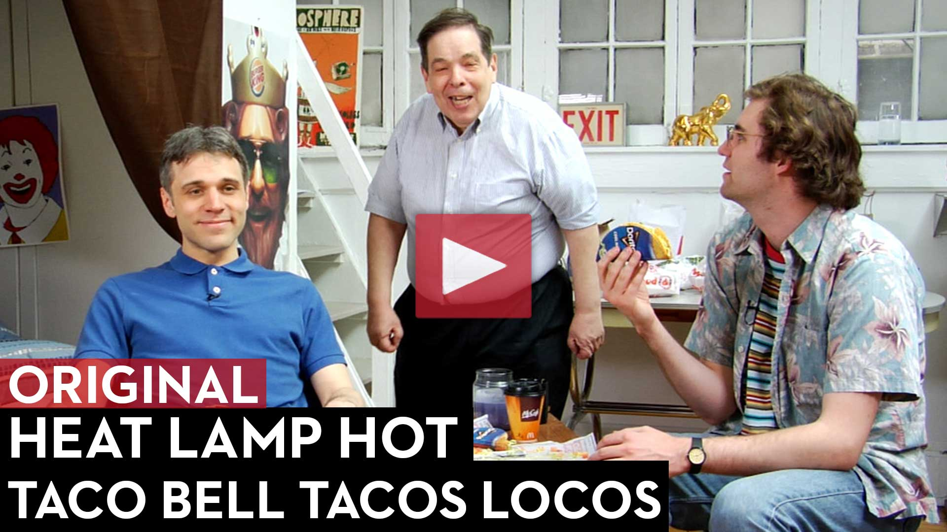 Taco Bell Tacos Locos Review: Heat Lamp Hot Episode 5