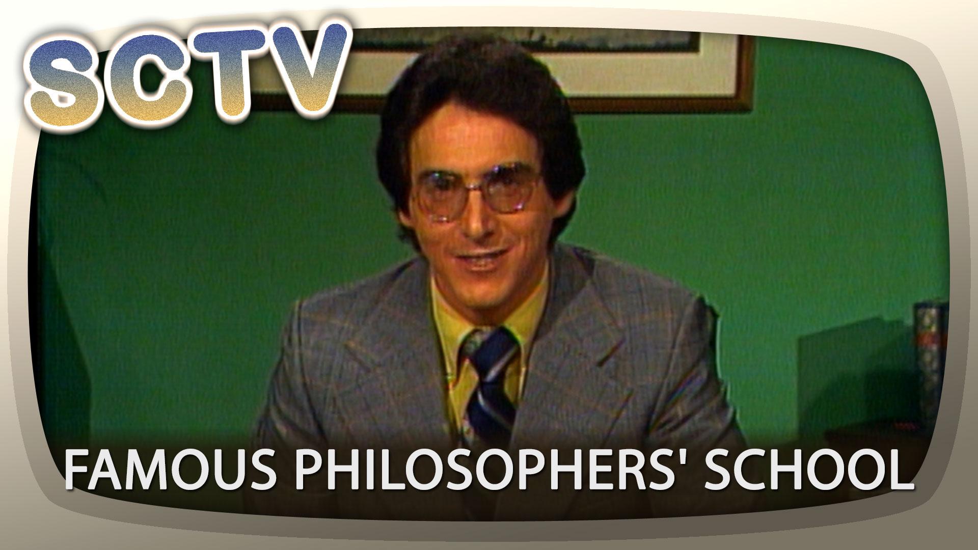 SCTV: Famous Philosophers' School with Harold Ramis