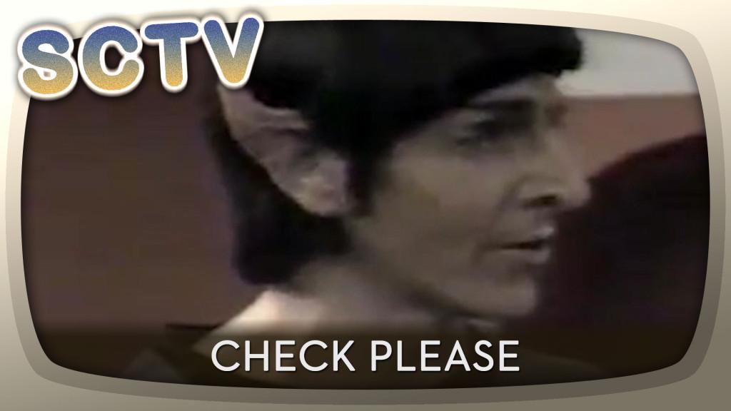 Ramis as Spock on SCTV