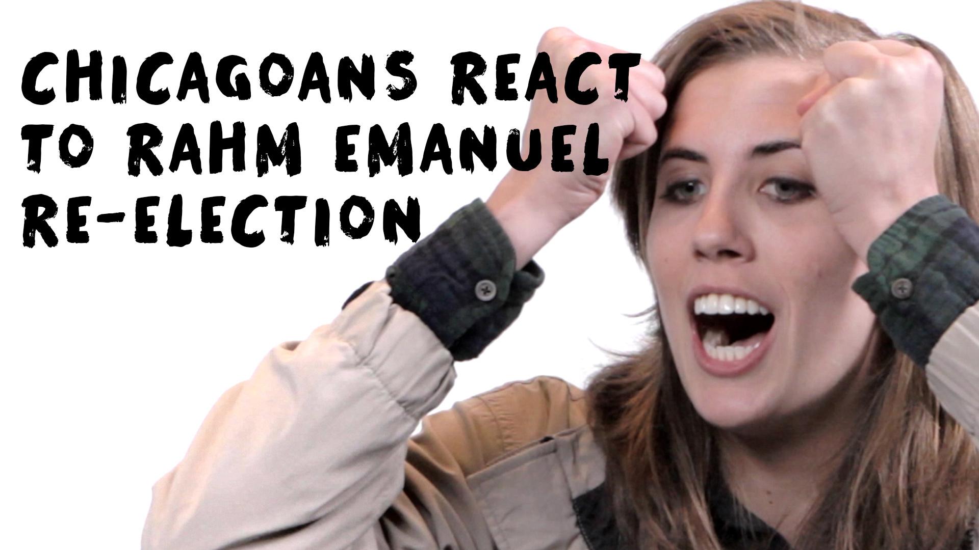 Chicagoans React to Rahm Emanuel Re-Election