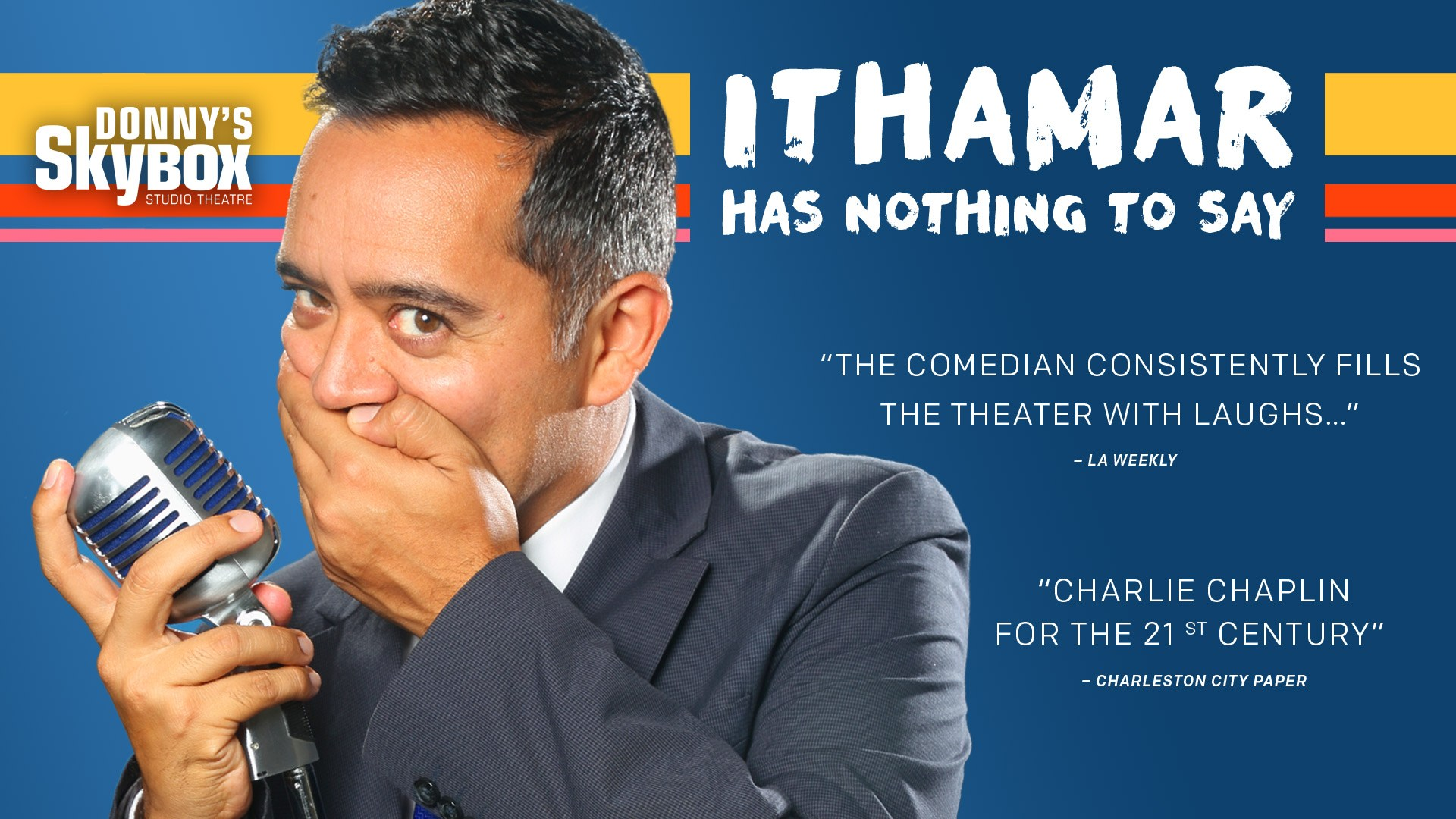 Ithamar Has Nothing To Say
