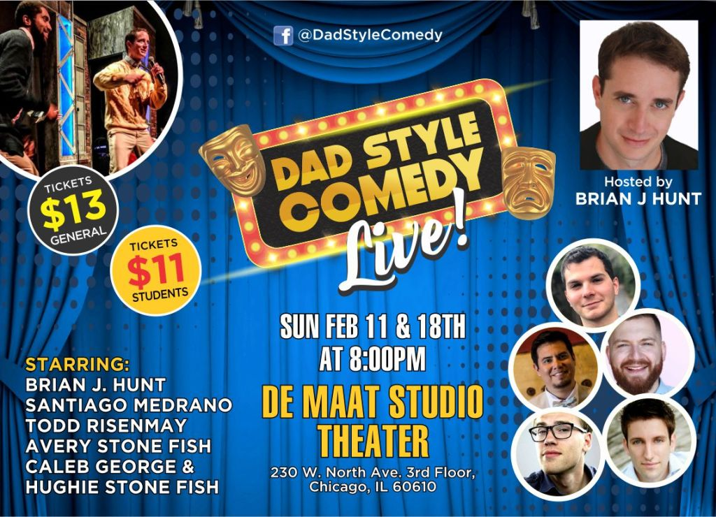 Dad Style Comedy, Live!