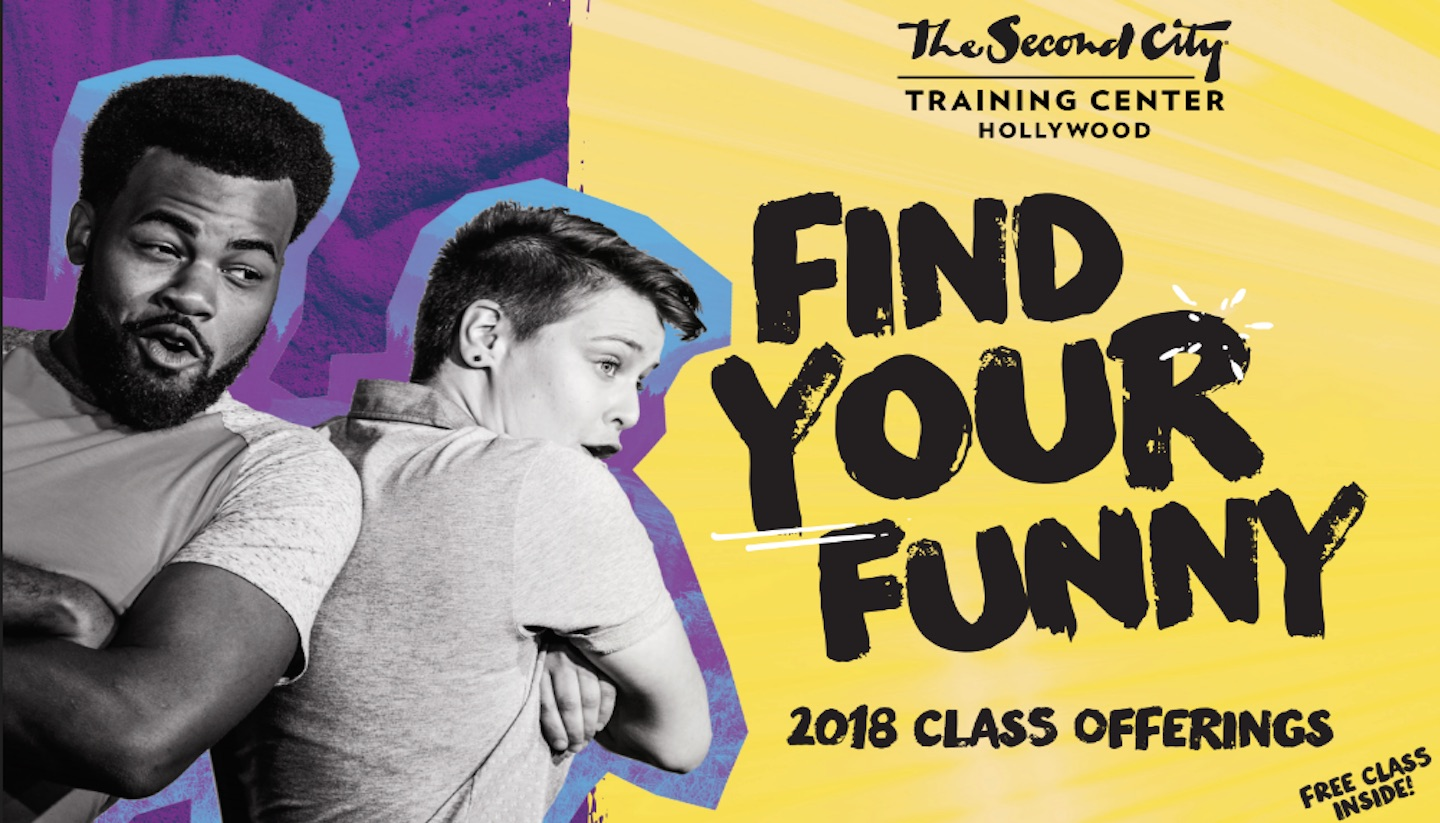 The Second City Hollywood's 2018 Class Catalog Is Here!