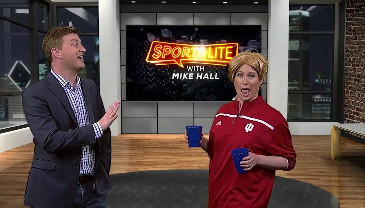 The Second City's Katie Klein Tailgates On The Big Ten Network