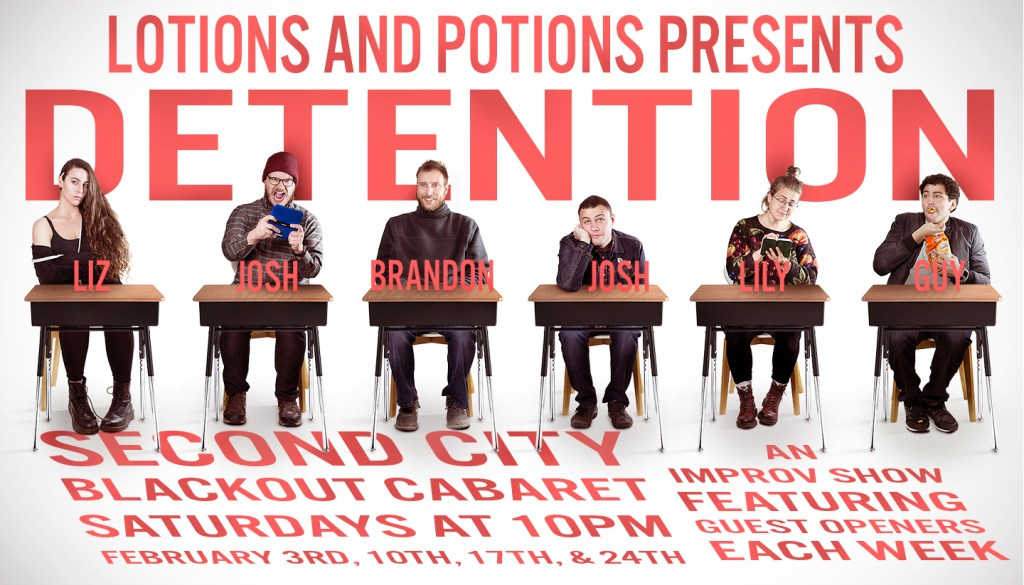 Lotions and Potions Presents: Detention
