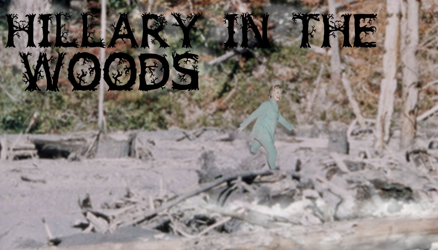 Hillary in the Woods