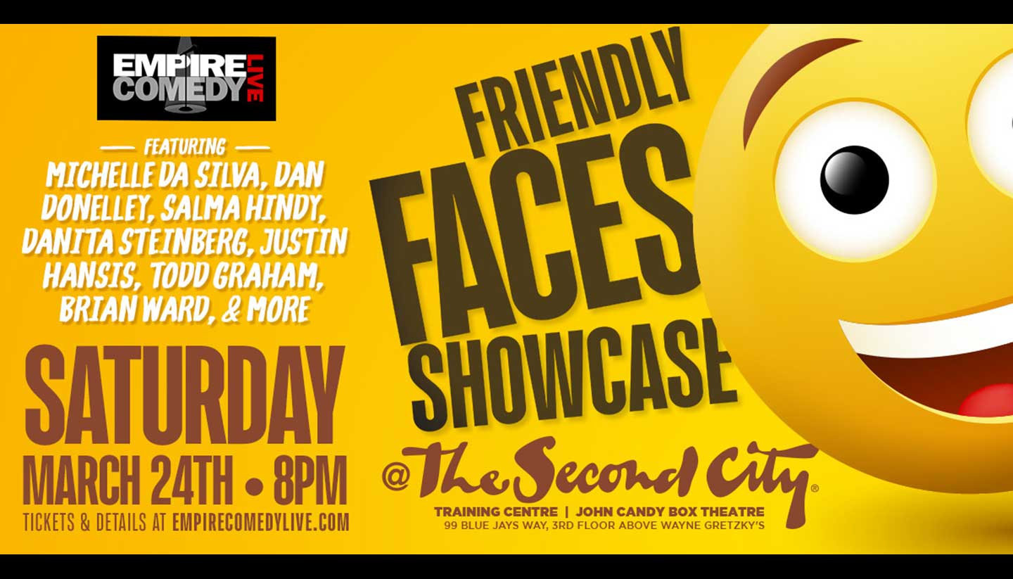 Friendly Faces Comedy Showcase