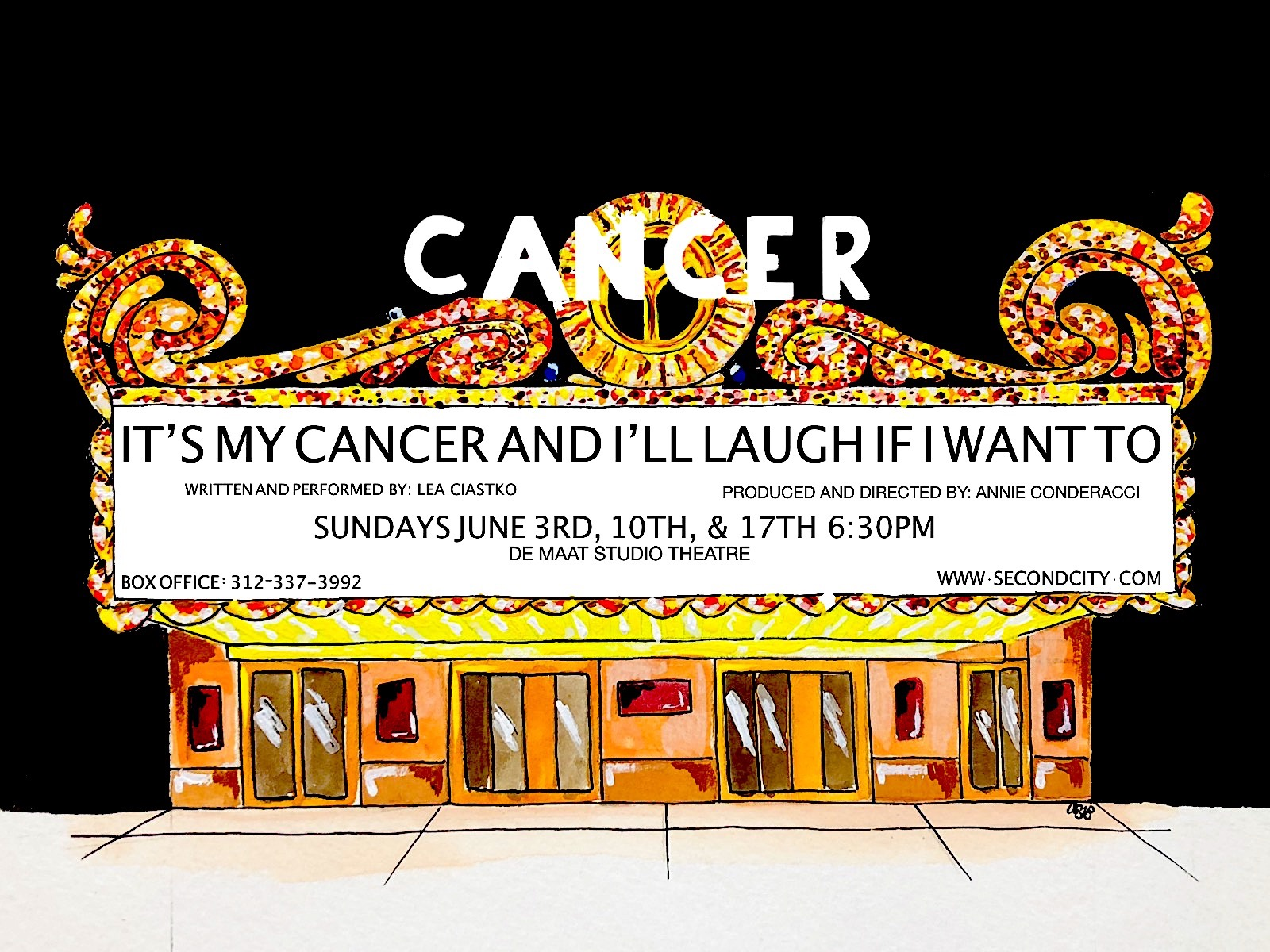 It's My Cancer and I'll Laugh If I Want To