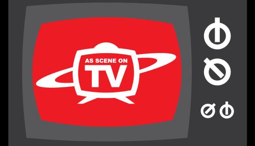 As Scene On TV