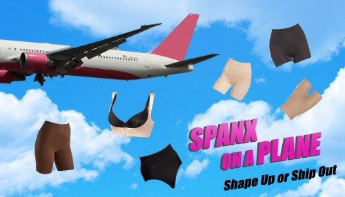 Spanx On A Plane